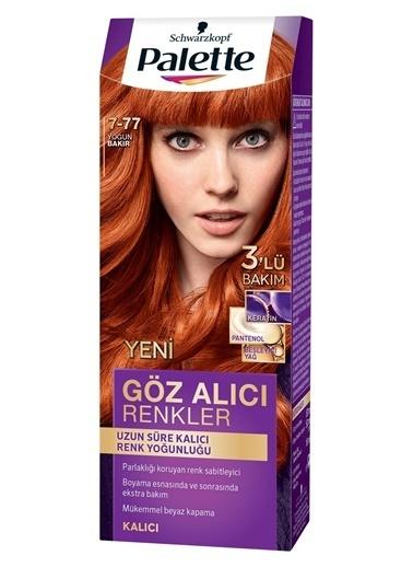 Palette Palette Yoğun Göz Alıcı Renkler Saç Boyası 7-77 Renkli